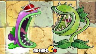 Plants Vs Zombies 2: Chomper Vs Chomper Vasebreaker Old New Version