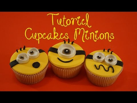 Cupcakes Minion Pate A Sucre Despicable Me Cake Design Youtube