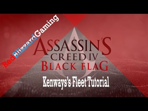 Assassin's Creed 4 Black Flag: How to Manage Kenway's Fleet!!!