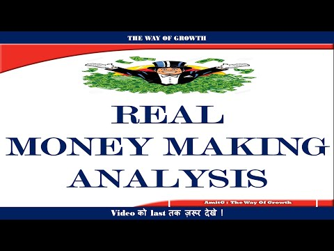 #28 THE WAY OF GROWTH : REAL MONEY MAKING ANALYSIS