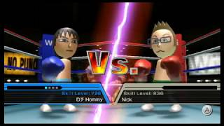 Wii Sports Corruptions #2 : Cyclone Boxing