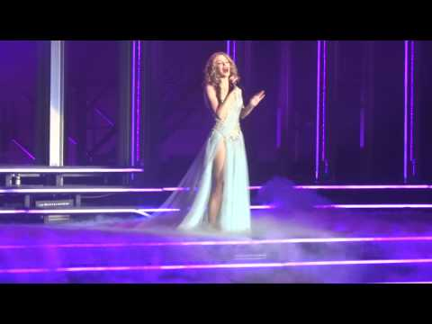 Kylie Minogue - Beautiful - live in Riga 2.11.2014.Kiss Me Once Tour