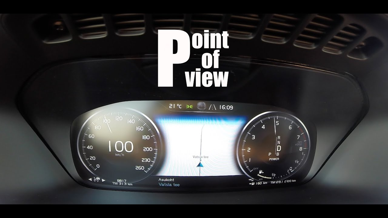 2018 Volvo Xc90 T8 0 100 Km H Start Up And Acceleration