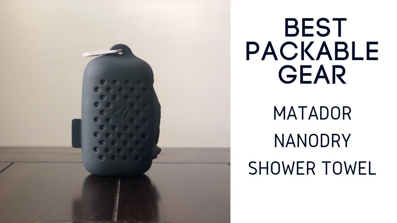 Matador NanoDry Packable Shower Towel