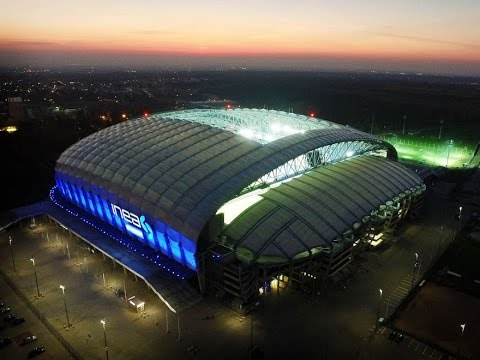 INEA Stadion W Poznaniu Z Lotu Ptaka
