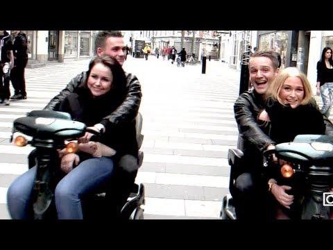 Stolle og Martin forbereder sig til date og låner handicap scootere fra to Horsens drenge ep4 del 1