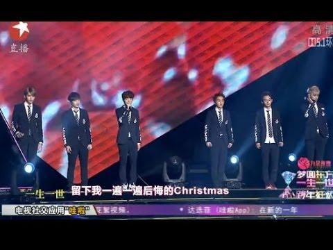 2014年芒果台春晚_2014上海东方卫视跨年晚会:EXO-M《初雪》-YouTube