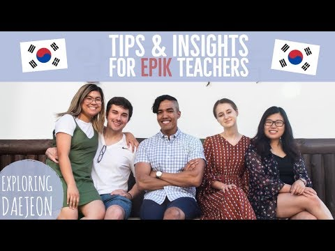 Exploring Daejeon, South Korea | Insights and Advice from EPIK Teachers | 대전 Vlog