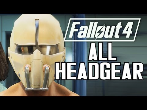 FALLOUT 4 - ALL HEADGEAR & ACCESSORIES!