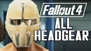 FALLOUT 4 - ALL HEADGEAR ACCESSORIES