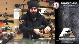 Full Auto Airsoft Emerson NJ G&G Armament SR series airsoft rifle review
