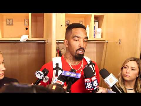 """J.R. Smith """"It's just one game"""" after huge Cavs win in Game 3 over Boston"""
