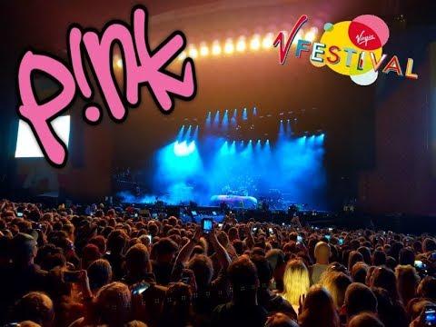 Pink - Virgin Festival 2017, Chelmsford, UK. 4K