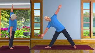 Yoga with Modi: Trikonasana English