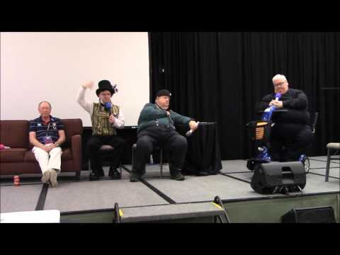 Colin, Ian and Simon panel at WhoFest 3.