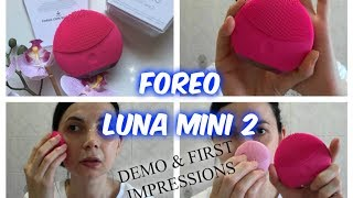 Foreo Luna Mini 2 • Demo & First Impressions | chiore83