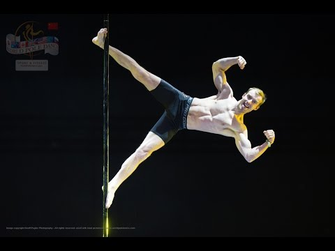 Kristian Lebedev - RUSSIA - World Pole Dance Championships - Beijing, China