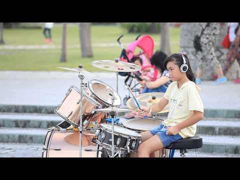 20150530【小黃奕】爵士鼓 - Rolling in the deep (Drum Cover)