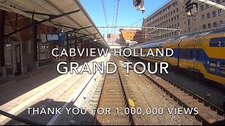 CABVIEW Grand Tour of HOLLAND: a BIG THANK YOU for 1,000,000 VIEWS! 2016