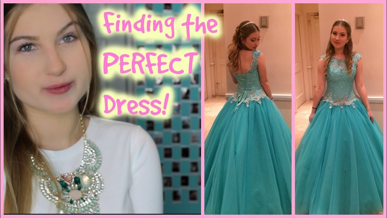 How to Find the Perfect Sweet 16/Prom Dress!-S16S Ep.4! - YouTube