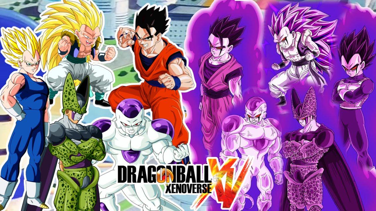 Dragon Ball Xenoverse : ORIGINALES VS POSEIDOS ! GOHAN