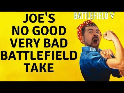 "Angry ""Strawman"" Joe Misrepresents Fans On Battlefield 5"