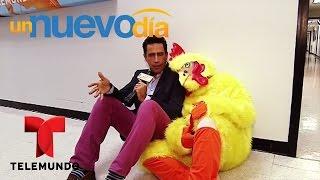 El Pollo de Un Nuevo Día está un poco celoso | Un Nuevo Día | Telemundo