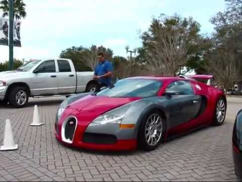 Chris Brown's Bugatti Veyron spotted at NBA playoffs