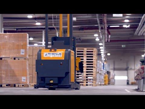 SMART FORKLIFTS At Rhenus Warehousing Solutions