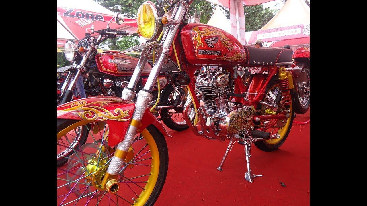 Modif Motor Cb Glatik Kinclong Full Airbrush