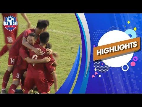 Highlights |  U15 Việt Nam