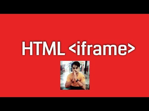 Hindi html tutorial in hindi part6  Iframe in html by testy Codeiz full html classes for bignner