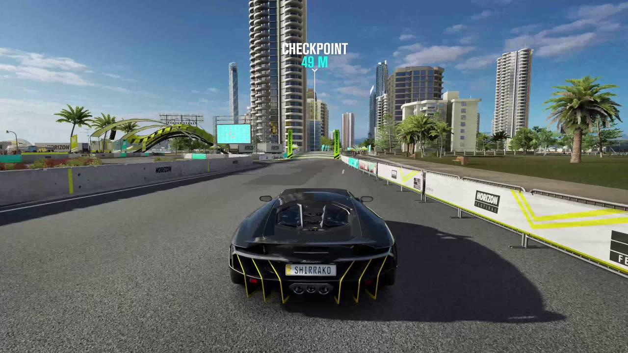 Forza Horizon 3 Lamborghini Centenario Vs Jet 4k 60fps Youtube