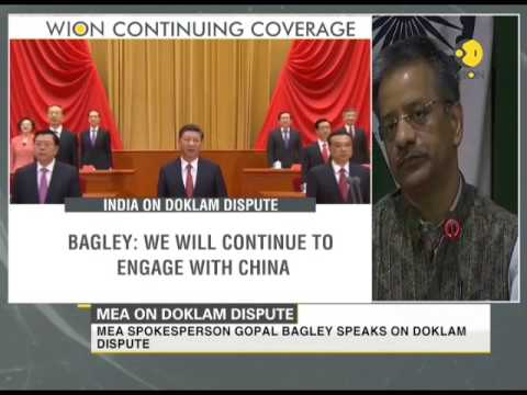 Doklam dispute: Mutually acceptable solution to be found out by diplomacy, says MEA spokesperson