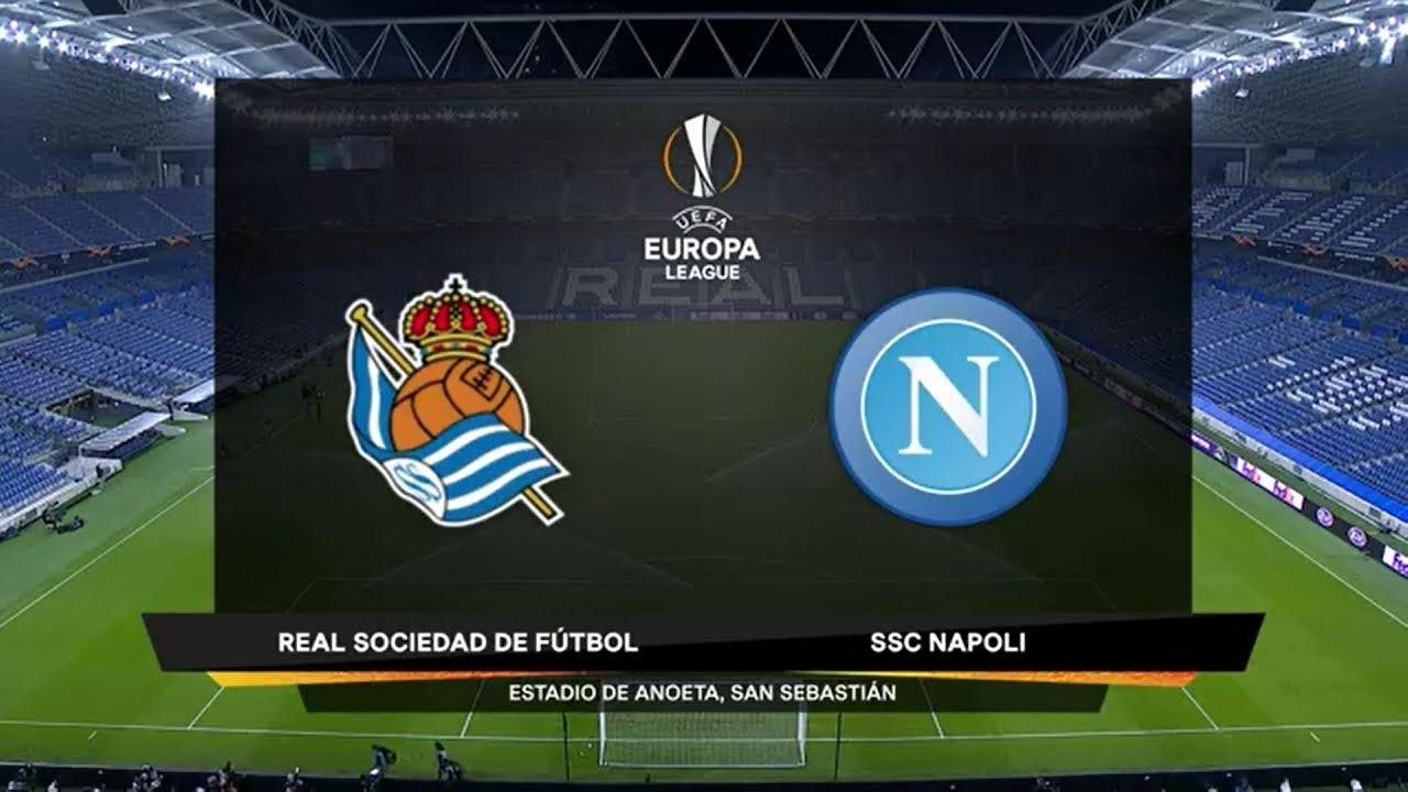 UEFA Europa League   Real Sociedad v Napoli   Highlights