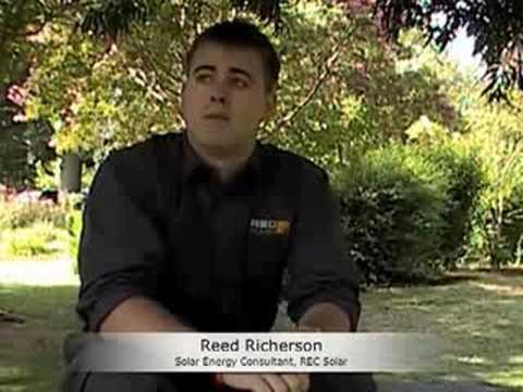 REC Solar, Reed Richerson, Solar Energy Consultant