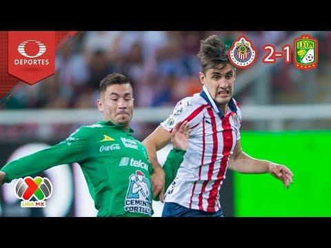 Victoria del Rebaño Sagrado: Chivas 2 - 1 León | Clausura 2019 - J16 | Televisa Deportes