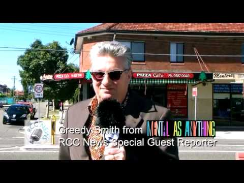 RCC News: Greedy Smith from Mental As Anything in Scarborough Street ... 23 Years Later