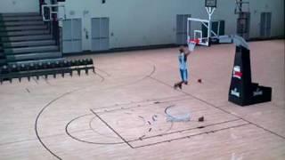 NBA 2k10 Draft Combine - 360-Between-the-legs-Dunk