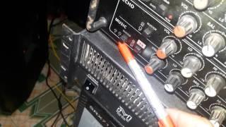 Hướng dẫn cách kết nối Âm ly với cục đẩy và ghép hai đôi loa lệch công suất