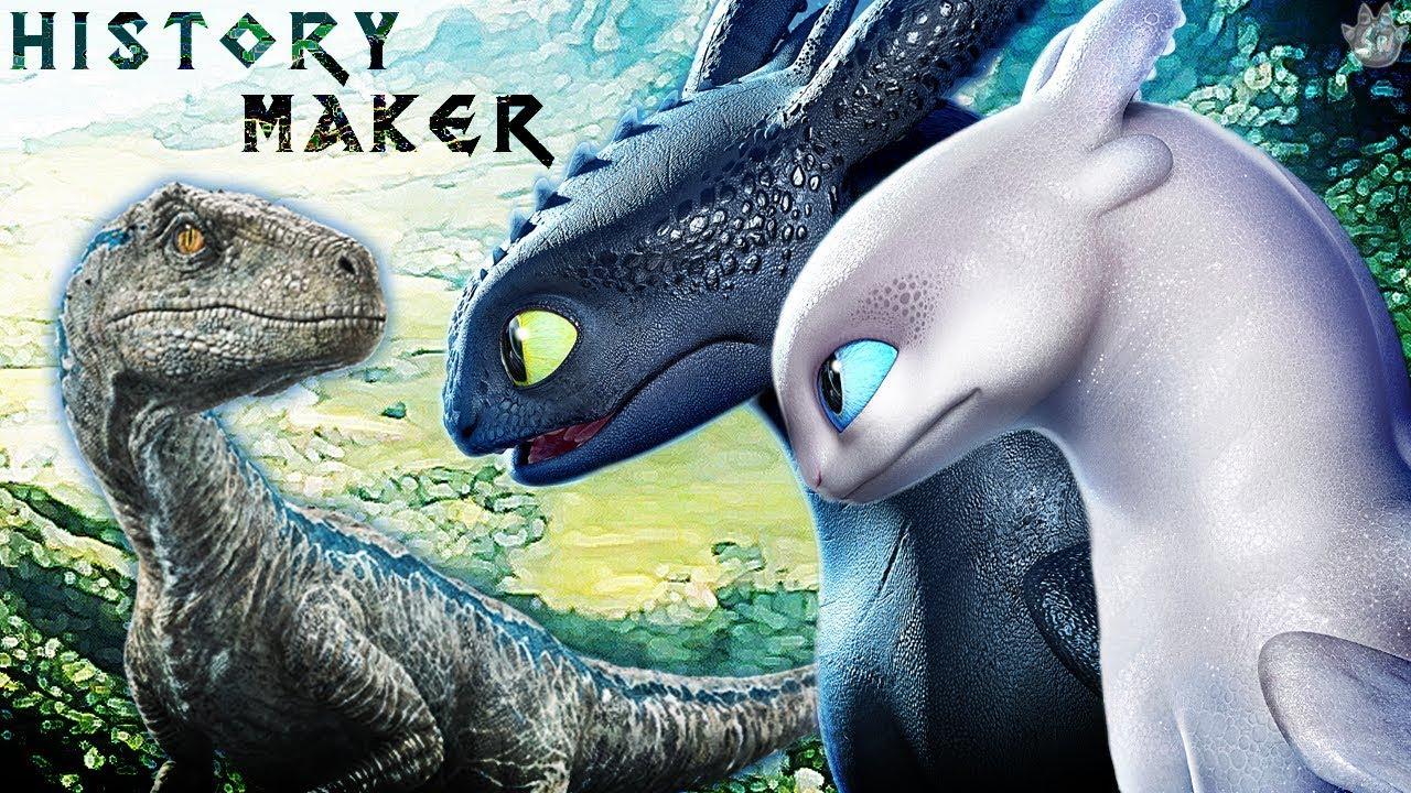 [♫] Jurassic Dragons - History Maker (Thx for 70k subs) [Music Video]