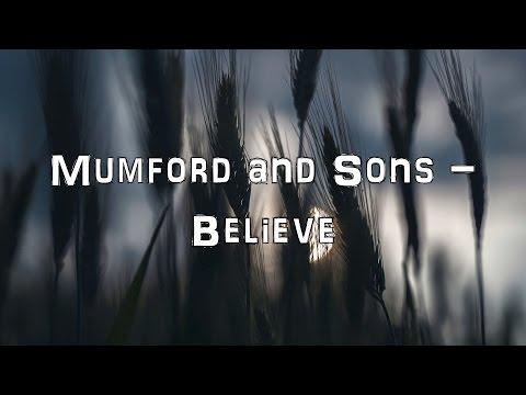 Mumford and Sons - Believe [Acoustic Cover.Lyrics.Karaoke]