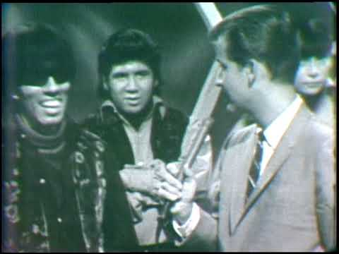 American Bandstand 1966- Interview Question Mark and The Mysterians