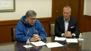 A.G. William P. Barr Gives Remarks Through Video Conference to the Alaska Federation of Natives
