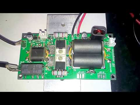 Testing Chinese HF linear amplifier DIY kits 70W SSB linear HF Power Amplifier For YAESU FT-817 KX3