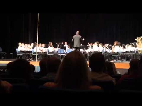 Tuskawilla Middle School Band Concert Part 2
