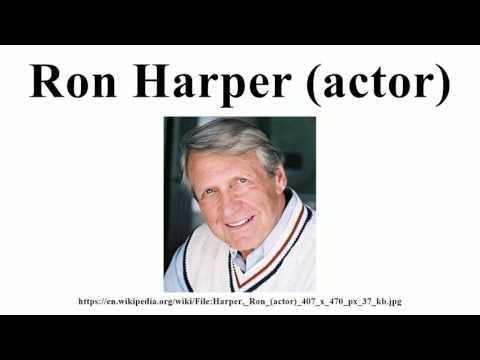 Ron Harper (actor)