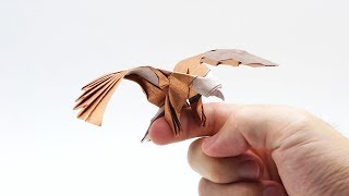 ORIGAMI EAGLE - Simplified version (Jo Nakashima)