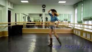 Видео уроки танца живота: Ковбойский танец (4 часть спиной)