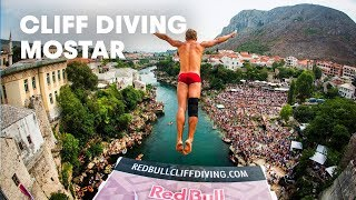 Cliff Diving Highlights from Mostar - Red Bull Cliff Diving 2015